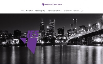 Changing Technology / Now LIVE! IES Updated Website